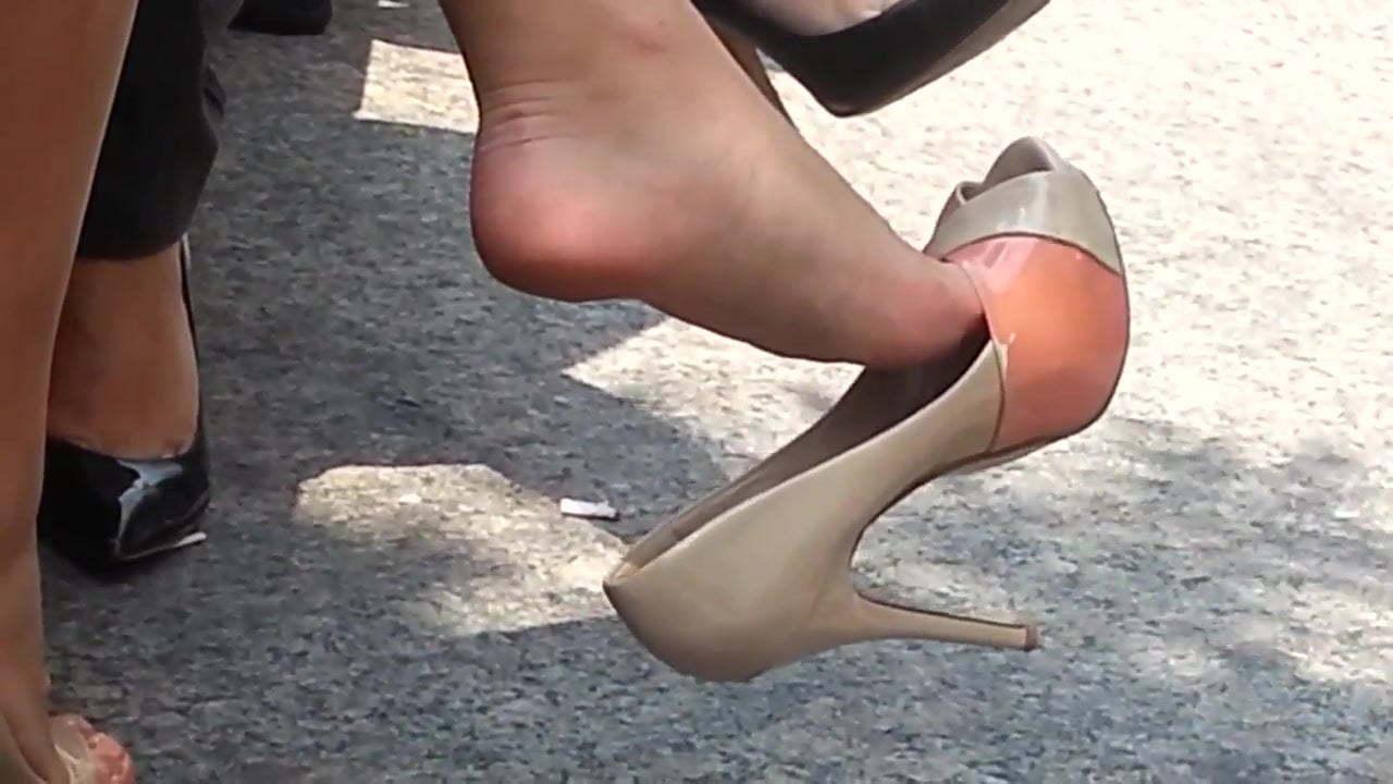 High Heel Cock Stomping