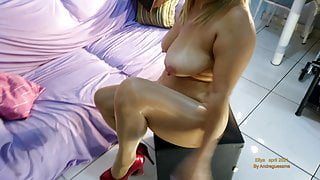 Super shiny pantyhose tights