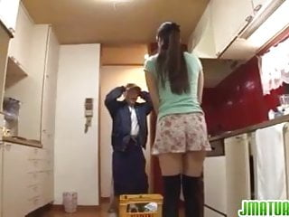 Dirty housewife porn Housewife goes dirty with the janitor