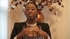 FEMALE PREACHER exposes breast during sermon