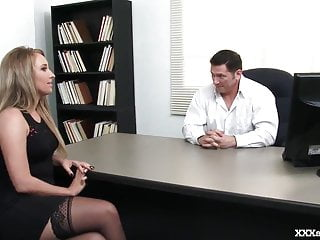Hard porn secretary Hot office girl fucked hard by her boss