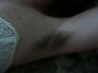 Hairy armpit mature - Cum on hairy armpit