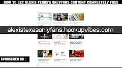 Alexis texas only for the fans