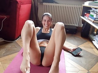 Passionate Fucking with Yoga Instructor - Cum on Ass