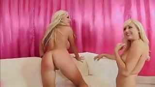 British Savanah Gold in nasty FFM arse licking scene