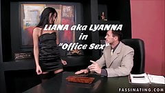 Trailer LIANA - LYANNA in Office Sex