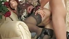 Mature Afina & a young guy 3
