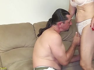 Granny video tits 81 years old mom banged by stepson