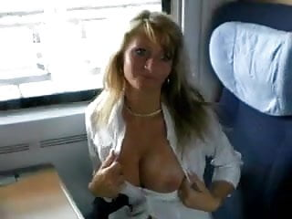 Girls fuck on train Sex on train