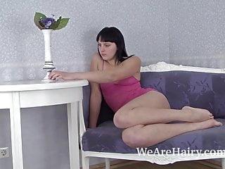 How to cure chronic masturbation Hairy girl emilija has a cure for boredom