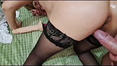 Homemade sex of a married couple of swingers