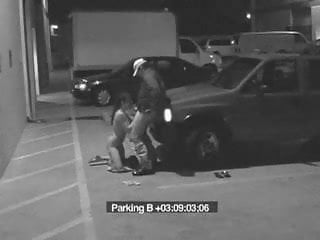 Security cam sex tube Security cam outdoor bj on parking