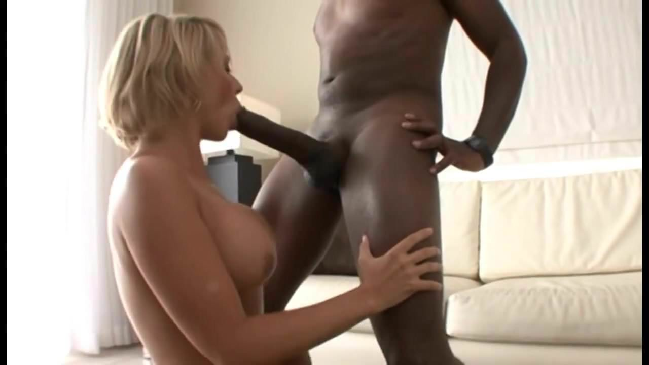 Thick Blonde Milf Takes Bbc