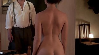 Lily James revealing her perfect English ass