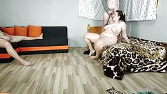 Cuckold Get His Birthday Gift Watching His Wife Get Fucked b