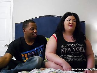 Nude fat gals - Fat white gal takes on two blacks