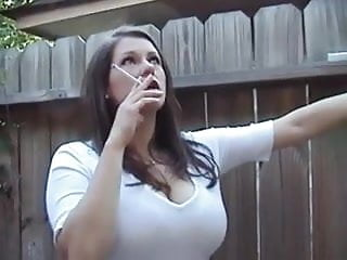 Milf long busty tube - Busty milf smoking long 120