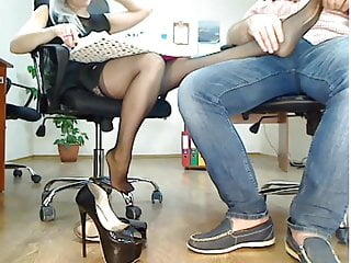 Jimmyjane form 6 vibrator - Legs massage in the office 6