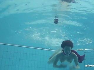 Pool jpg naked swim Mia babe swimming naked in the pool