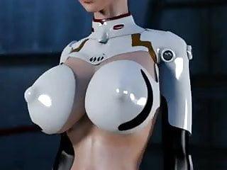 3d hentai breasts Neon genitals erogelion 3d hentai