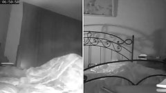 Hidden camera found my wife masturbating as soon as I go to