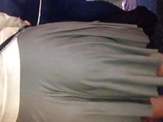 Super fat women sex - Super fat ass in grey skirt