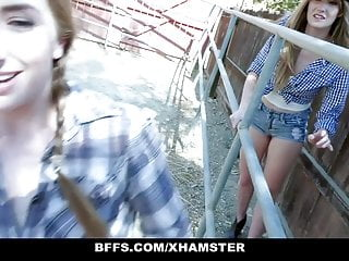 Southern vintage - Bffs - three southern teens get dicked down
