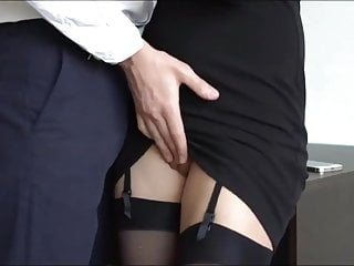 Women bosses sex video - Crazy secretary with tight pussy jerking off her boss cock