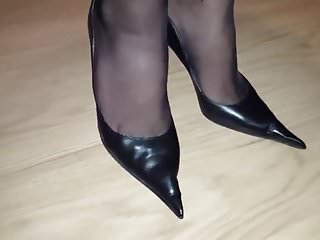 Elizabeth shoe pantyhose Shoes...