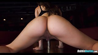 Oiled Stripper ass Foreplay
