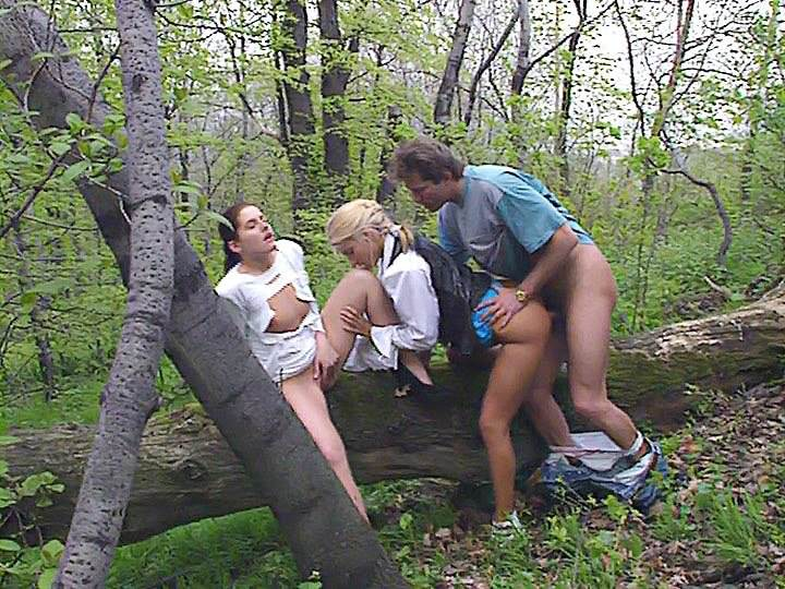 Private Video Magazine Threesome In The Anal Park Porn 3a