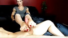 hot footjob beautiful feet