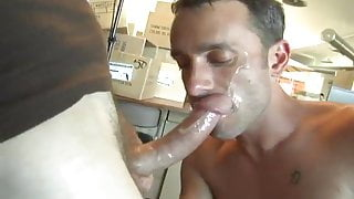 Hot and intense blowjob and Delicious cum