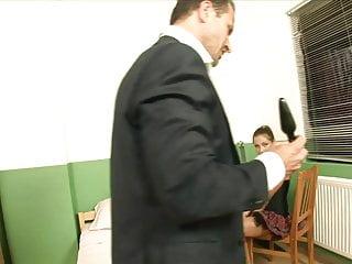 Anal sex butt plug Randy teacher shoves a butt plug into hot schoolgirls ass