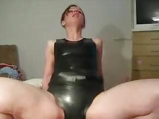 Eva In Black Latex