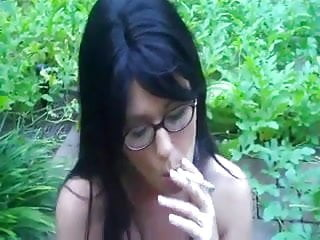 Sex compliations - Hot sexy brunette cougar smoking compliation