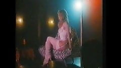 Kay Lenz. Stripper on Stage. Topless