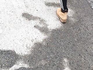 Sweat teen fuckers Sweat teen ass in black leggings