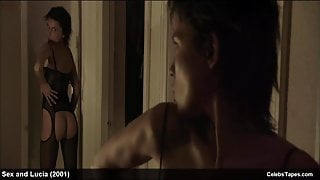 celebrity Elena Anaya nude frontal and naughty sex actions