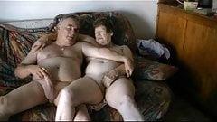 Mature Exhibitionist Couple Masturbating Openly