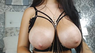 Ivy has a perfect pretty face and perfect big boobs