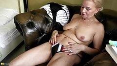 Still very sexy granny with hot body