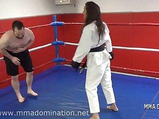 Bdsm humilation free videos - Mixed fight- headscissor beatdowns trampling humillation