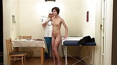 Medical examination at the correctional school