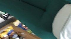 ぽっちゃり系女性と緑のスパンデックスパート2