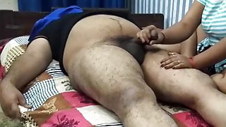 Indian massage parlour handjob
