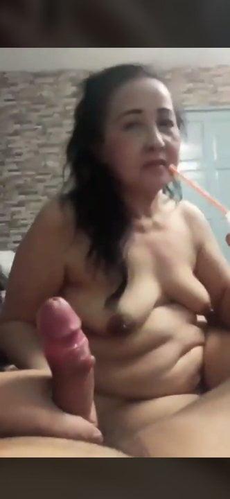 Paid A Thai Granny For A Blow Job