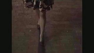 Angel Doll's First Public Stroll
