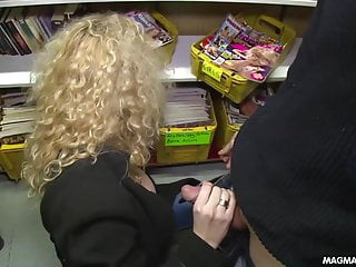 Dvd footjob - Magma film german orgy at the dvd store