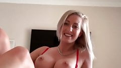 Hot Instagram girl rubs her wet pussy and comes hard